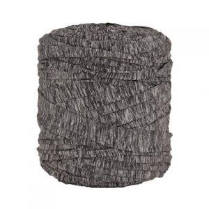 Trapilho XL Gris chiné- Bobine, pelote de t-shirt yarn, Hooked, zpagetti, trapillo. Fil de tissu recyclé pour crochet