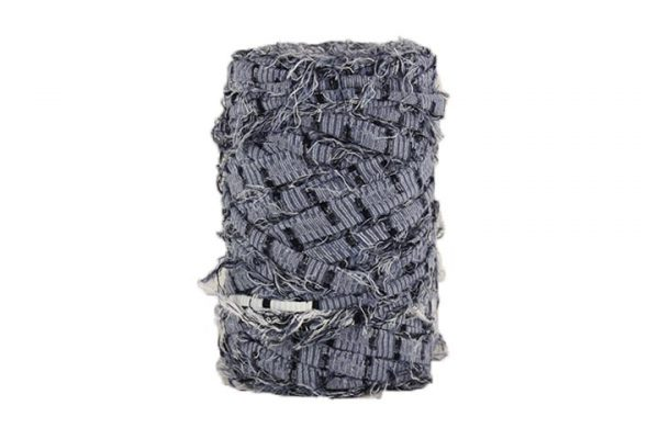 Trapilho M bleu marine - Bobine, pelote de t-shirt yarn, Hooked, zpagetti, trapillo. Fil de tissu recyclé pour crochet et tricot