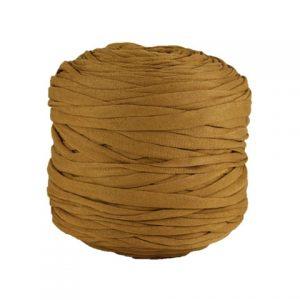 Trapilho léger cannelle - Bobine, pelote de t-shirt yarn, Hooked, zpagetti, trapillo. Fil de tissu recyclé pour crochet et tricot