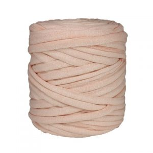 Trapilho XL rose pâle - Bobine, pelote de t-shirt yarn, Hooked, zpagetti, trapillo. Fil de tissu recyclé pour crochet et tricot