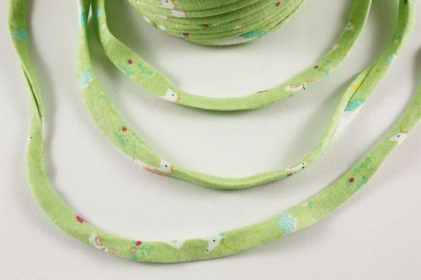 Trapilho au mètre vert d'eau - Bobine, pelote de t-shirt yarn, Hooked, zpagetti, trapillo. Fil de tissu recyclé pour crochet , bijoux, couture , décoration