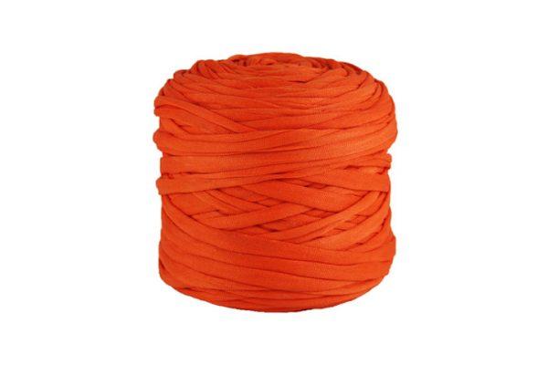 Trapilho léger corail - Bobine, pelote de t-shirt yarn, Hooked, zpagetti, trapillo. Fil de tissu recyclé pour crochet et tricot