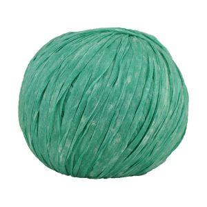 Trapilho paper vert menthe - Bobine, pelote de t-shirt yarn, Hooked, zpagetti, trapillo pour crochet et tricot. Fil de tissu recyclé souple et ultra léger pour sacs, pochettes, bijoux