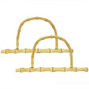Anses ou poignées de sac en bambou. Mercerie, couture tricot, crochet, trapilho