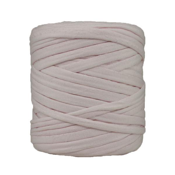 Trapilho rose pâle - Bobine, pelote de t-shirt yarn, Hooked, zpagetti, trapillo. Fil de tissu recyclé en jersey pour crochet, tricot, tissage, macramé, bijoux