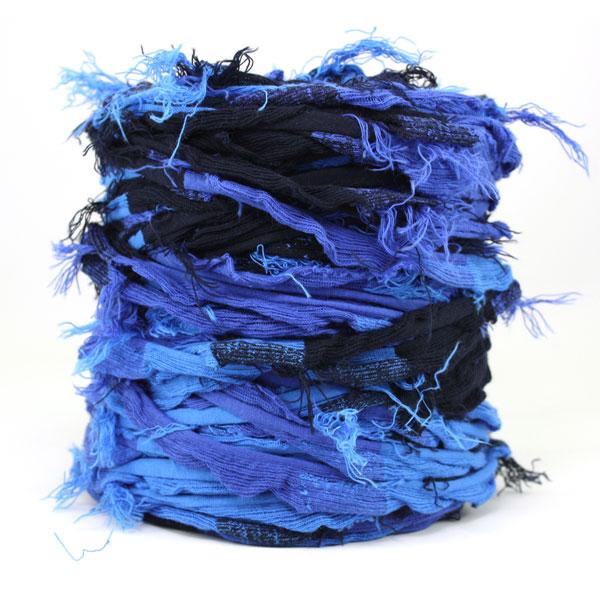 Trapilho- bobine - Bleu-noir