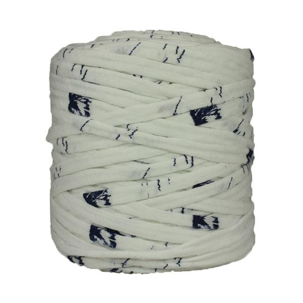 Trapilho-Bobine-imprimé-marine-blanc