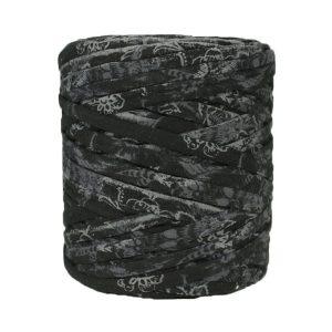 Trapilho-Bobine-imprimé-gris-noir