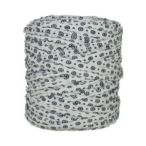 Trapilho-bobine-pelote-imprimé-marine-blanc