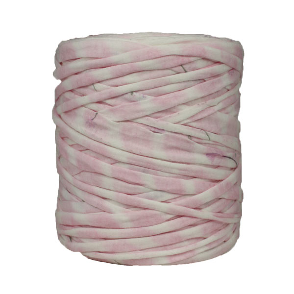 Trapilho-bobine-pelote-imprimé-rose-blanc