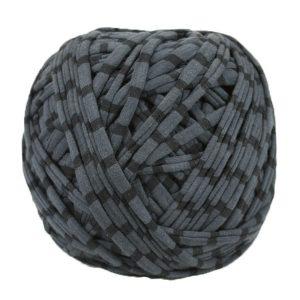 Trapilho-bobine-pelote-rayé-gris-noir