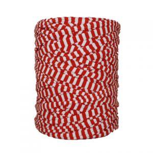 Trapilho-bobine-pelote-rayé rouge blanc