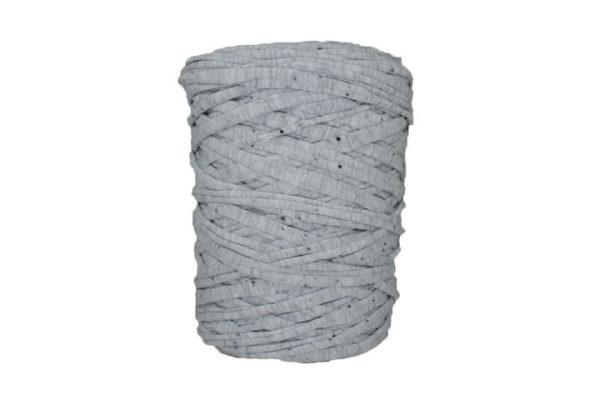 Trapilho-bobine-pelote-gris-Imprimé-pois-gris-chiné