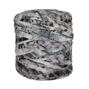 Trapilho-bobine-pelote-imprimé-gris-rose-fané-noir