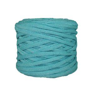 Trapilho--bobine-bleu-celeste-pailleté-argenté
