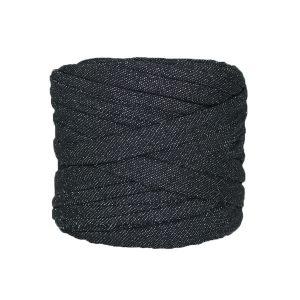 Trapilho-bobine-noir-pailleté-argenté