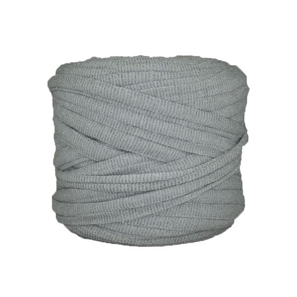 Trapilho--bobine-gris-perle-pailleté-argenté