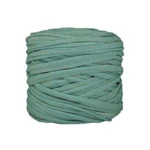 Trapilho--bobine-vert-opaline-pailleté-doré