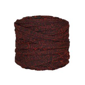 Trapilho--bobine-noir-pailleté-rouge