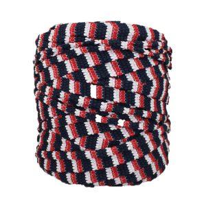 Trapilho-bobine-pelote-rayé-marine-rouge-blanc