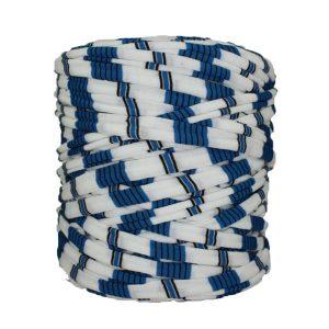 Trapilho-bobine-pelote-rayé-bleu-blanc