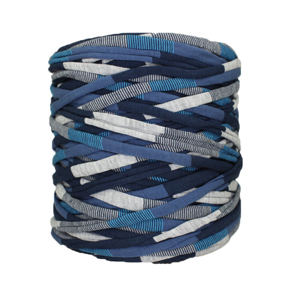 Trapilho-bobine-pelote-rayé-bleu-gris