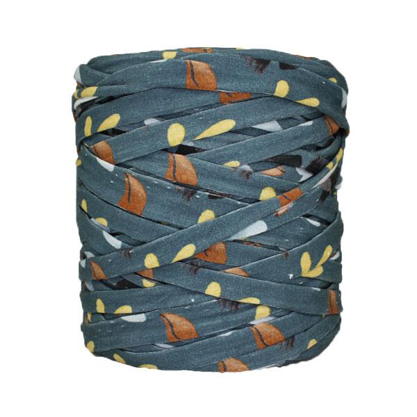 Trapilho-bobine-pelote-imprimé-bleu